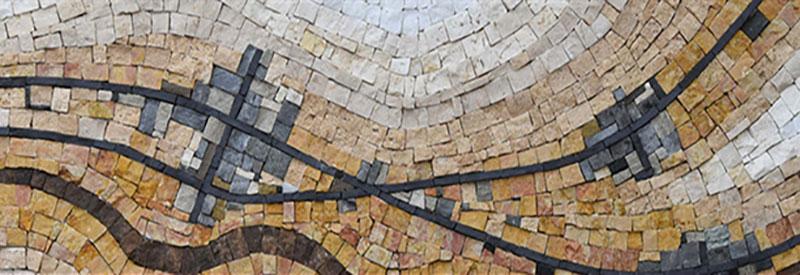 Andamento mosaics exhibit header