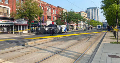 Spadina in Chinatown closed after shooting