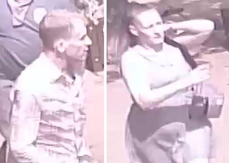 man and woman wanted by police in aggravated assault investigation