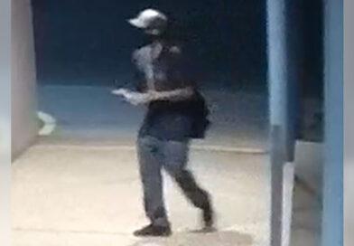 Man sought after synagogue sprayed with anti-Semitic graffiti