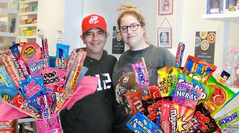 Kandy Krazed candy store owners