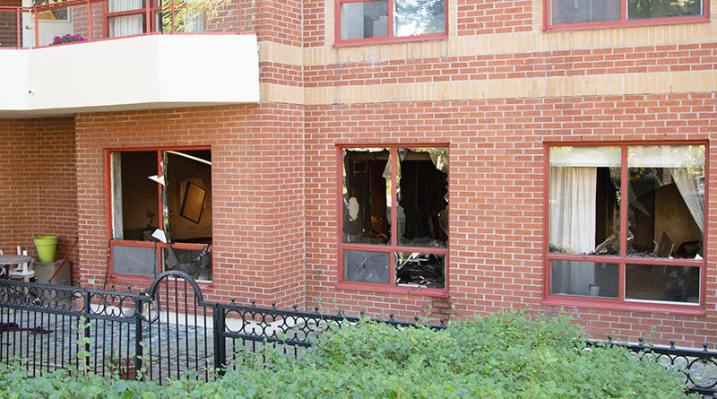 fatal fire at Millwood Road apartment