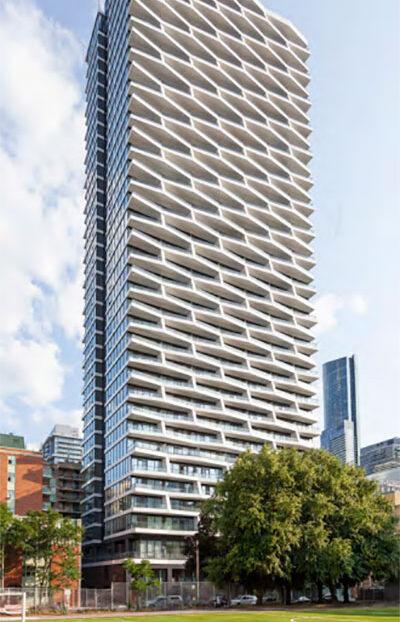 Axis Condos win Urban Design Award
