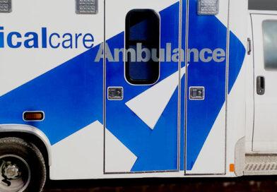Elderly pedestrian struck by bus on Lawrence